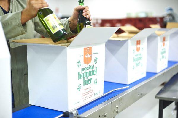 4Werk - voeding: Poperings Hommel Bier