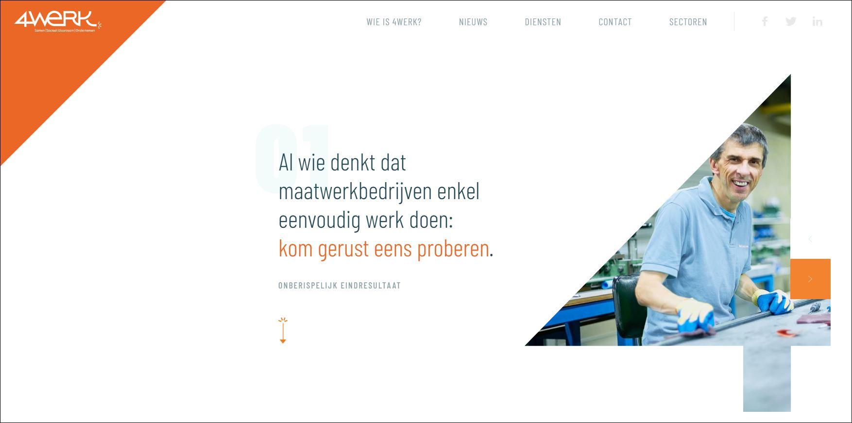 4Werk lanceert nieuwe website